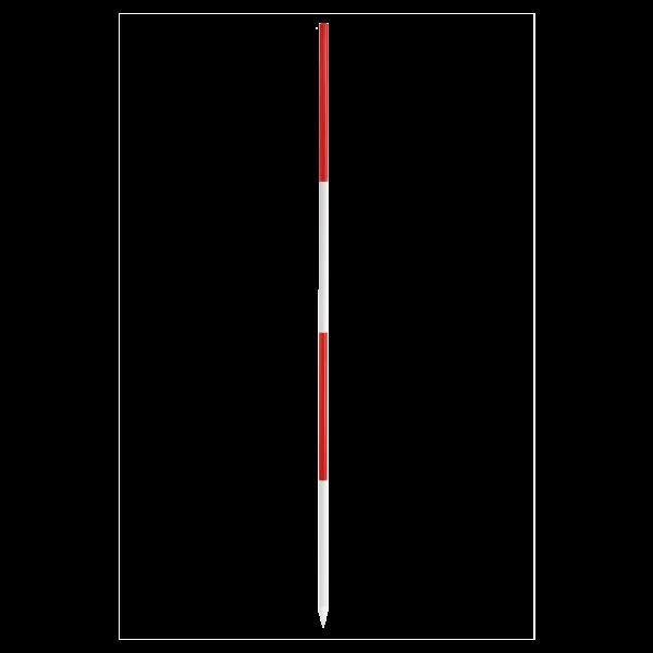6X RP 2 jalon de géomètre