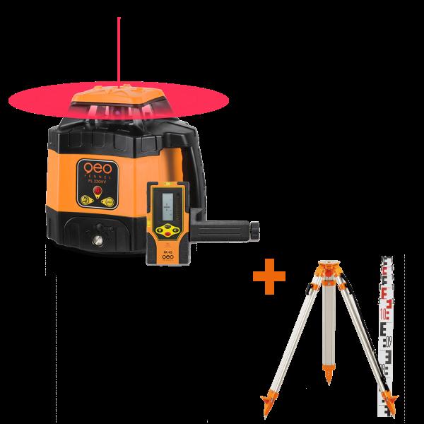 Pack laser rotatif FL 220 HV (CL2) & FR 45 + FS 20 +TN 14